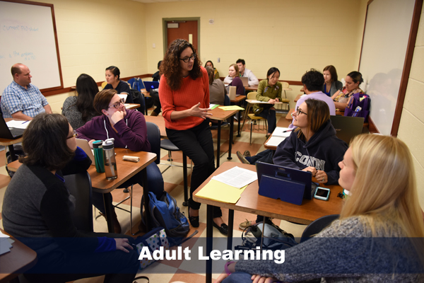 robin grenier teaching adult learning class