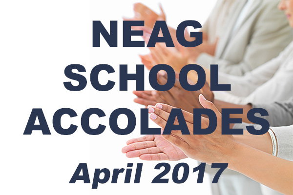 Clapping in honor of School Accolades, April 2017