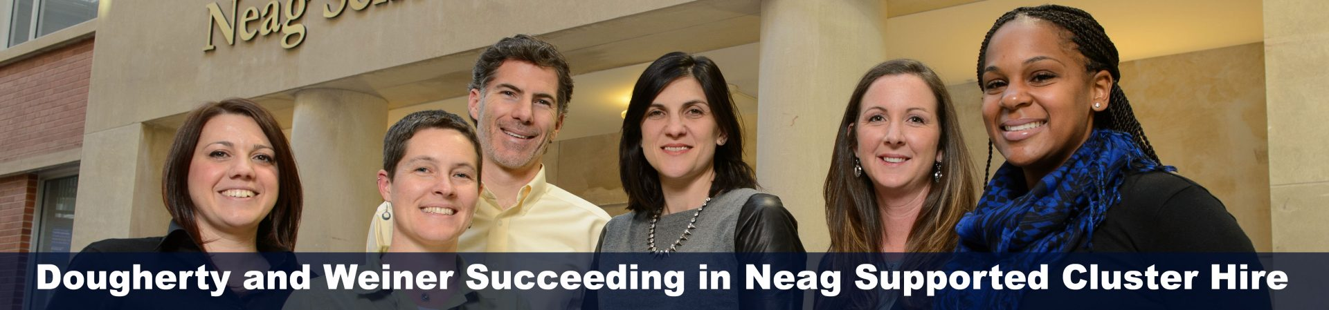 Neag Cluster Hire Group, including Shaun Dougherty and Jennie Weiner from EDLR