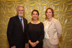 Jennie McGarry with Neag Scholarship receipients