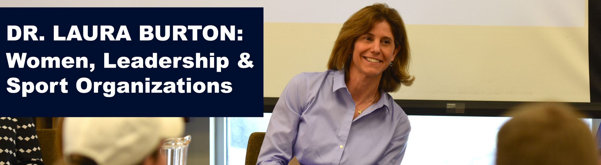 Dr. Laura Burton on Women in Sport Leadership Positions