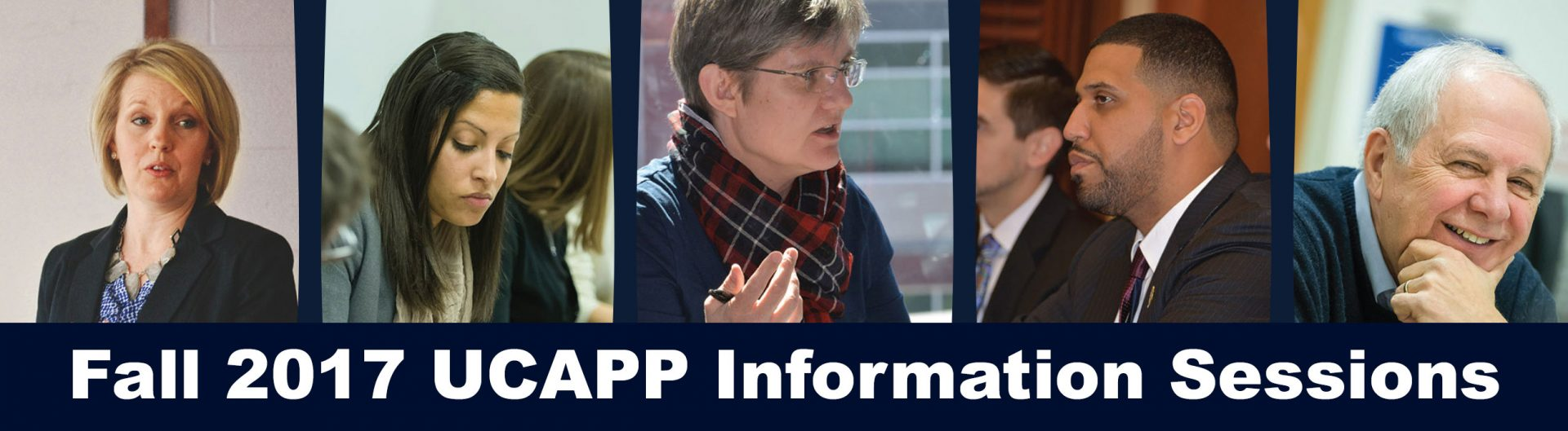 UCAPP Information Sessions, Fall 2017