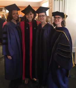 2013 Cohort graduates with Drs. Jennie Weiner and Sarah Woulfin
