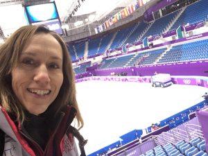 Hockey rink, Rachel Madsen