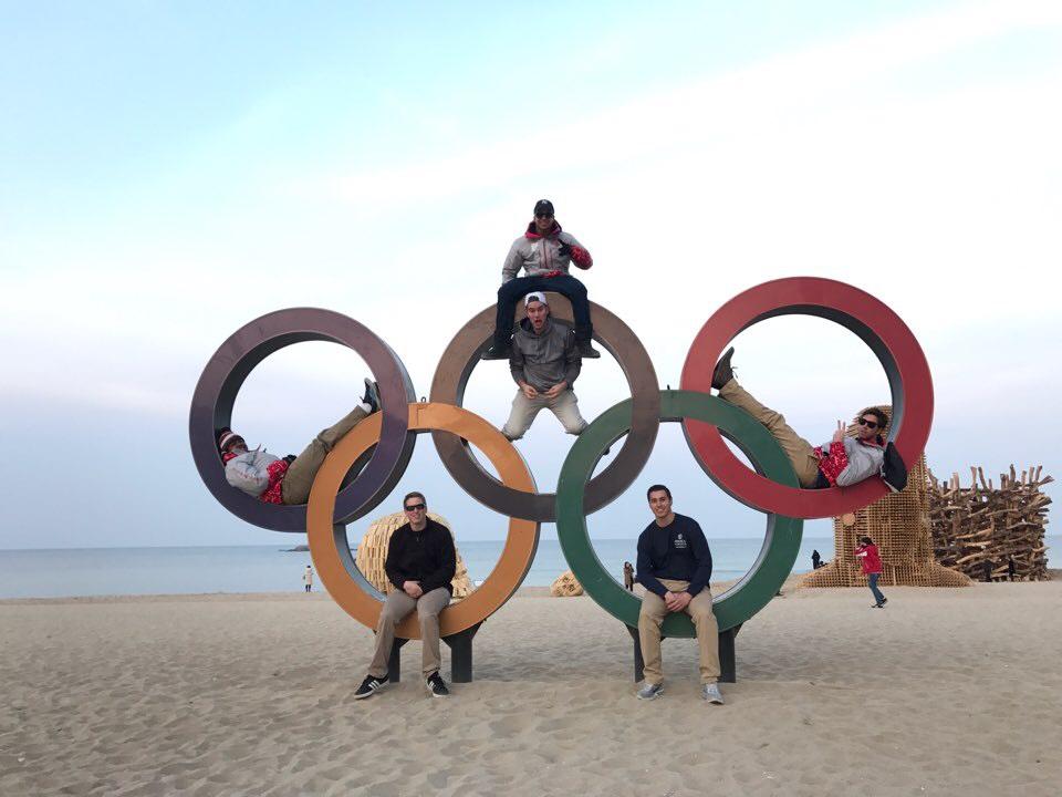 Olympics rings in 2018