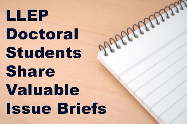 Notebook on issue briefs