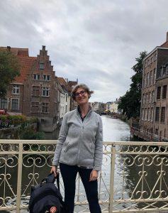 Sarah Woulfin exploring Ghent, Belgium
