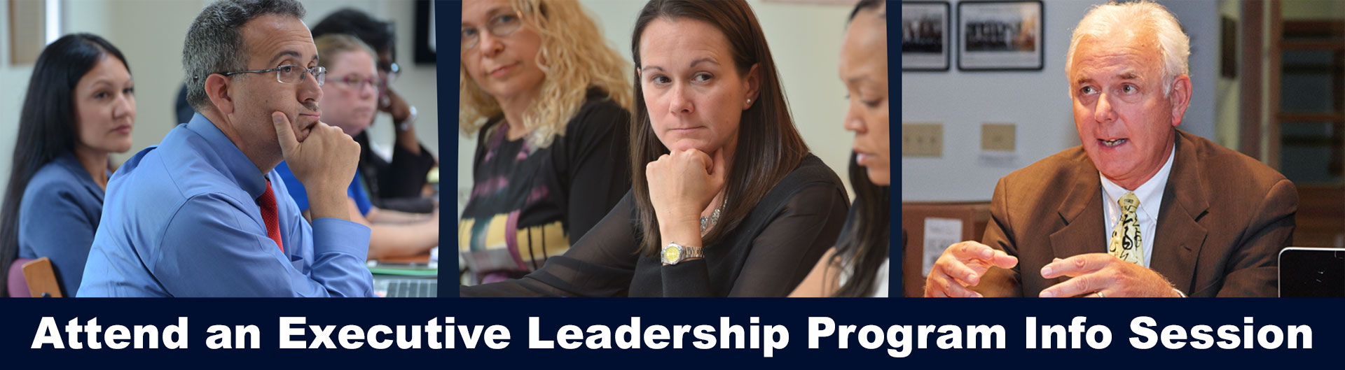 Attend an Executive Leadership Program Info Session