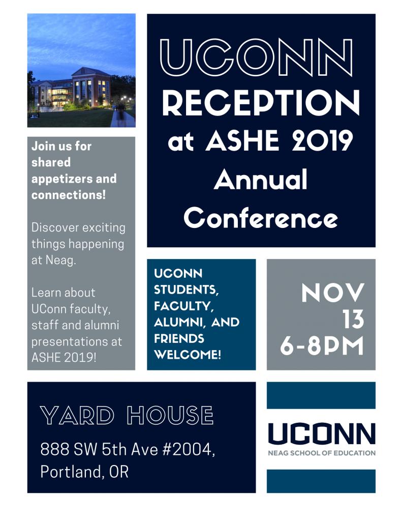 ASHE 2019 Flyer