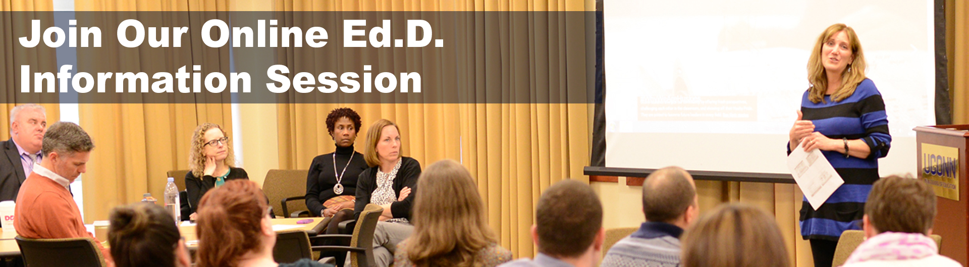 Join our online Ed.D. information session